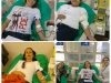 CAIC Albert Sabin - Santa Maria no Hemocentro em doação de sangue