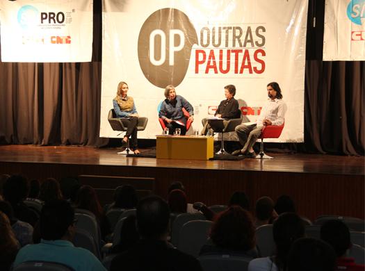 Tema recorrente desde as manifestações ocorridas em junho de 2013, o Plebiscito Popular por uma reforma política no Brasil ganhou espaço na quinta edição do projeto Outras Pautas. Durante os três...
