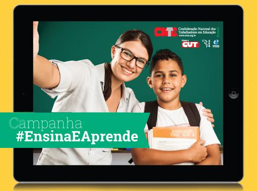 A Confederação Nacional dos Trabalhadores em Educação (CNTE) adotou a selfie como forma carinhosa de homenagear o (a) professor (a) no Dia do (a) Professor (a) e lançou uma campanha nas redes sociais....