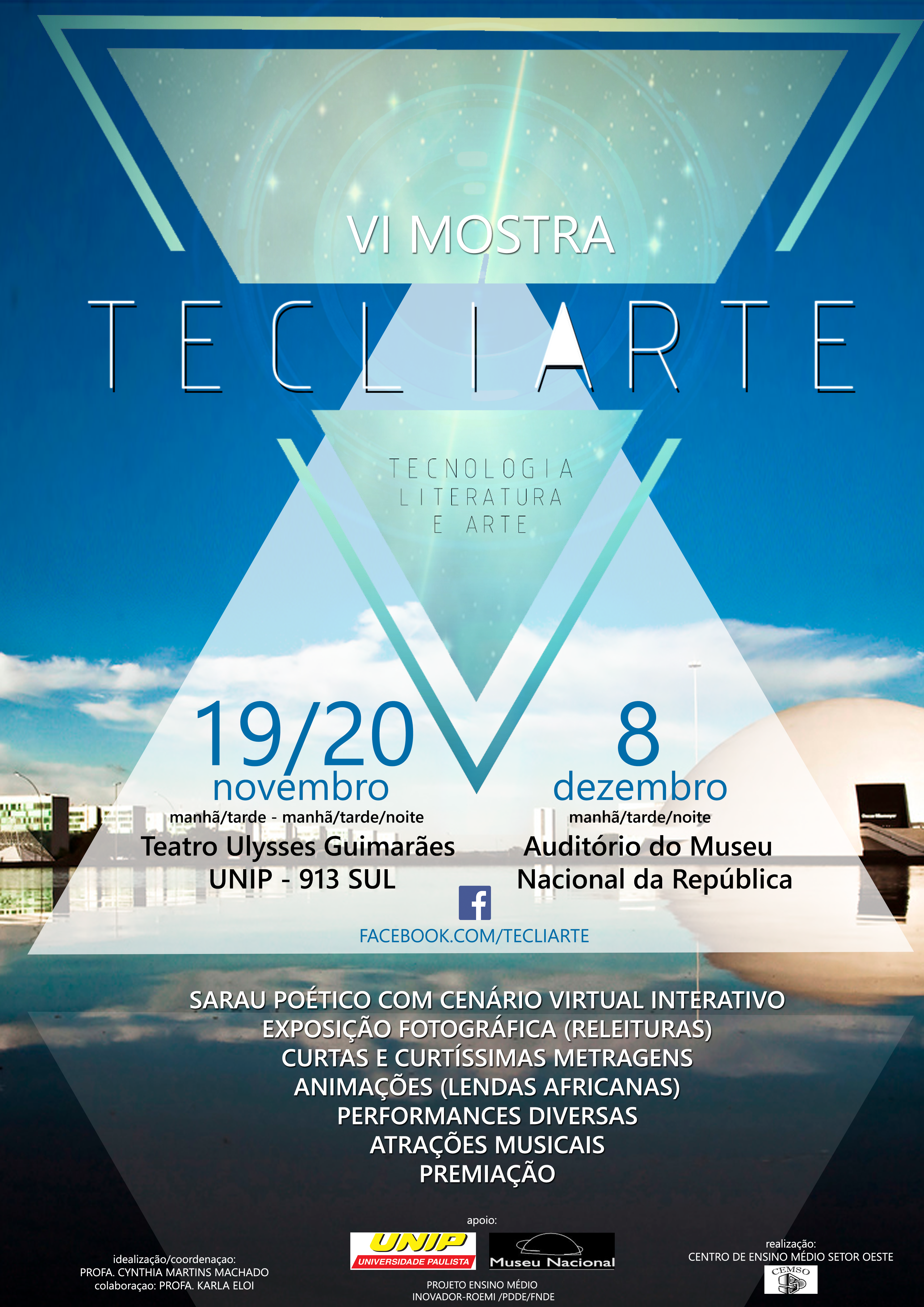 cartaz Tecliarte 2014