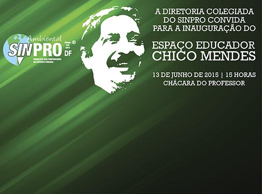 A inauguração será no dia 13 de junho, às 15h, na Chácara do Professor (Núcleo Rural Alexandre Gusmão, Chácara 02, Lote 123 – Brazlândia)....