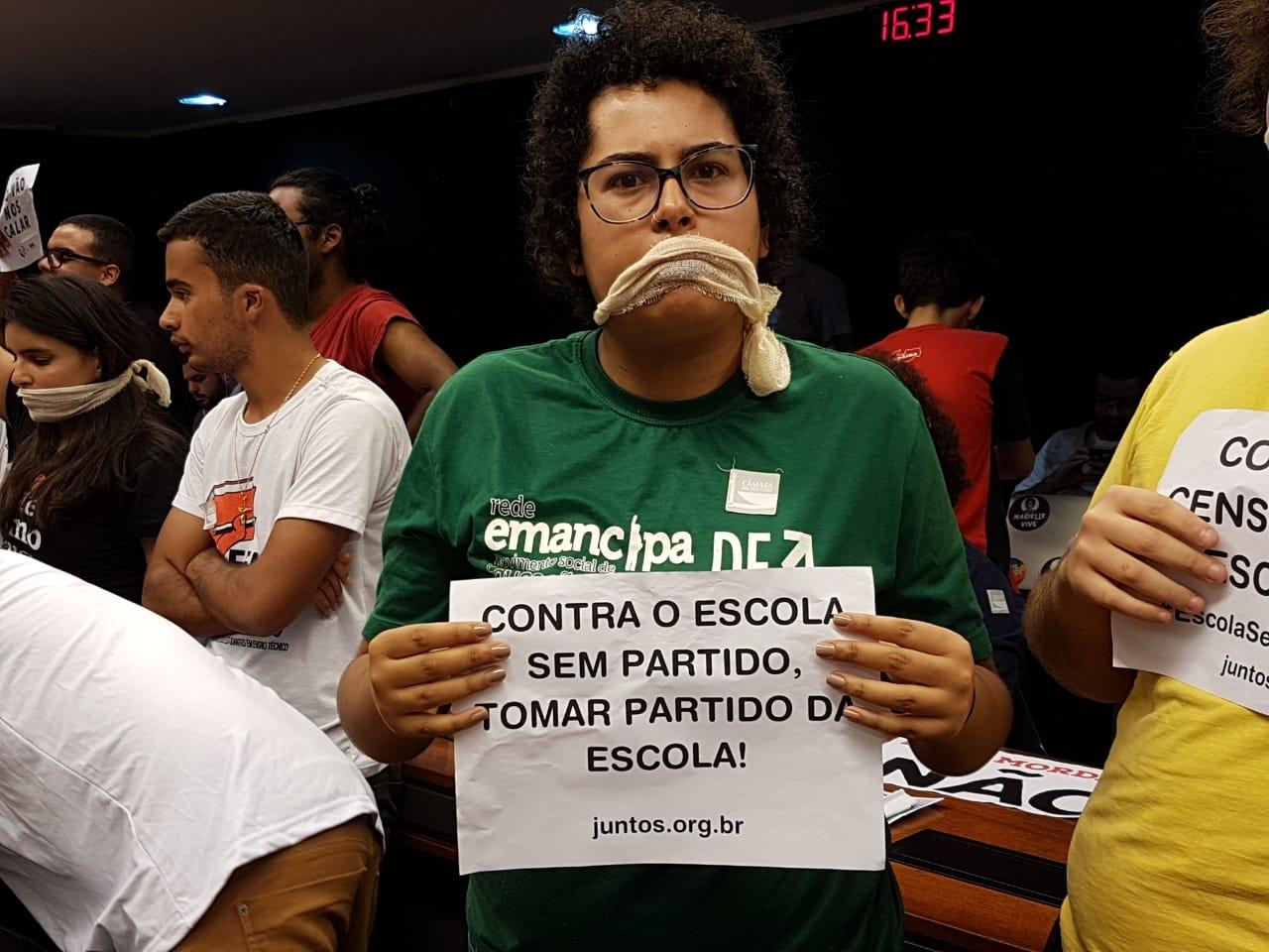 Fotos Lei da Mordaça Votacao (13)