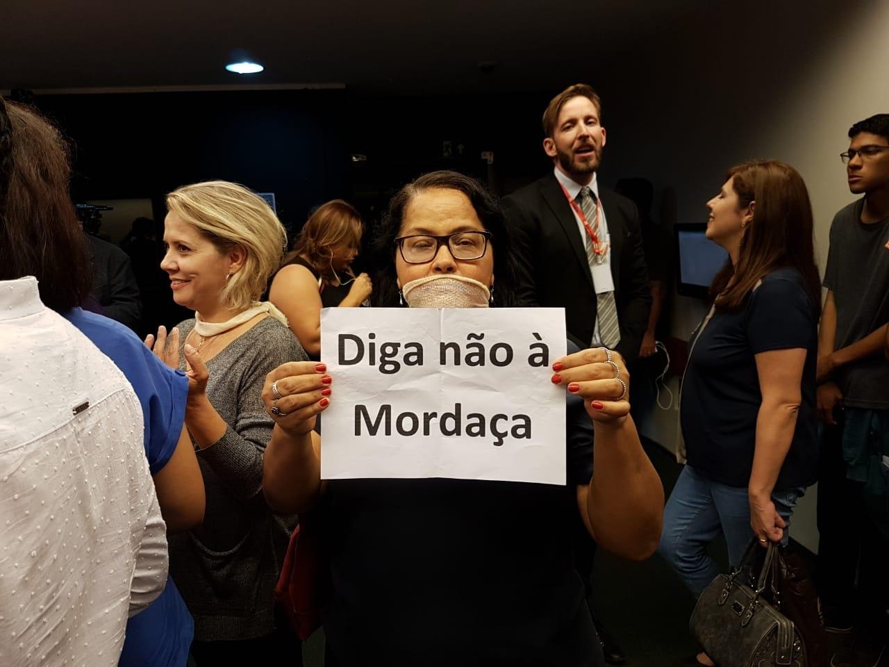 Fotos Lei da Mordaça Votacao (14)