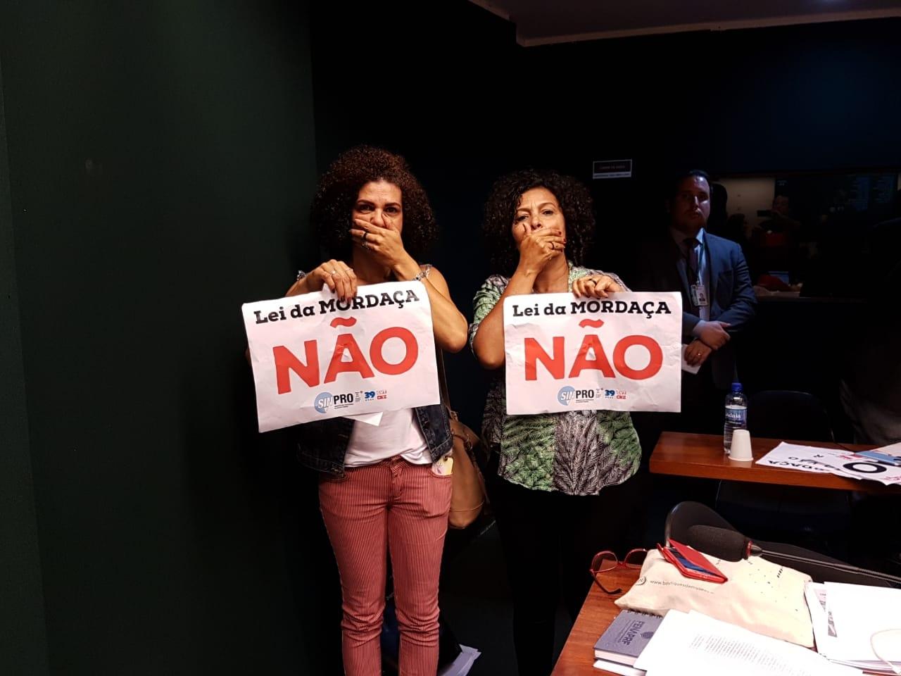 Fotos Lei da Mordaça Votacao (28)