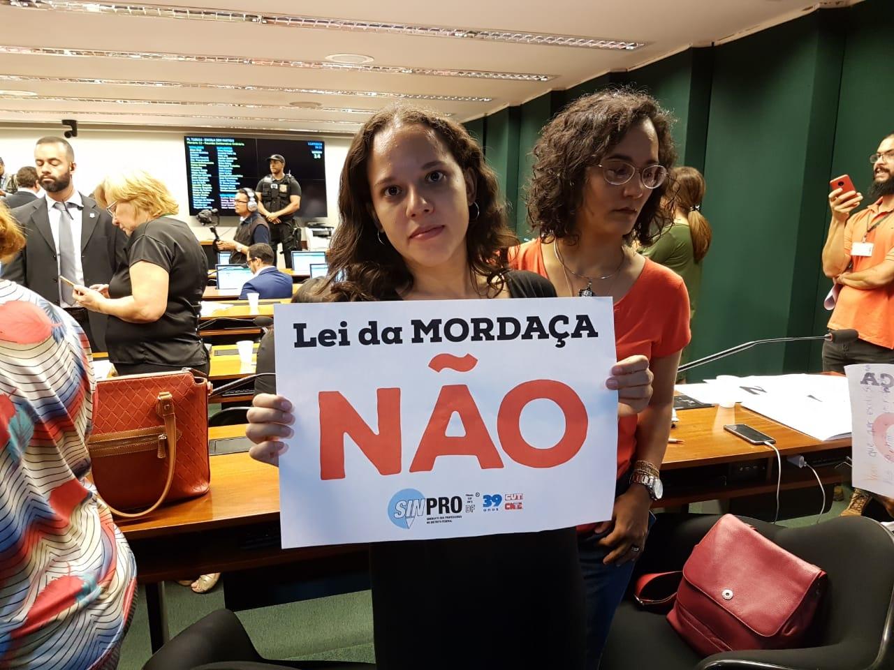 Fotos Lei da Mordaça Votacao (37)